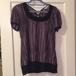 Purple blouse size large